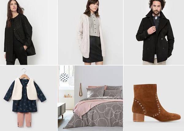 ventes priv es mode pr soldes hiver 2016 2017 les. Black Bedroom Furniture Sets. Home Design Ideas