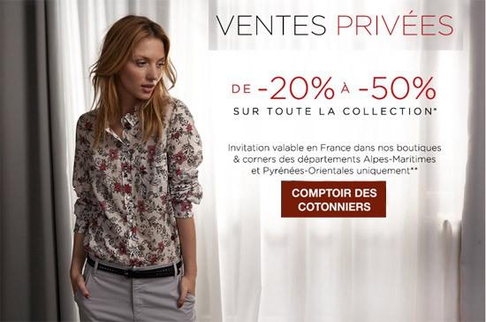 Vente Privee Comptoir Des Cotonniers Pre Soldes Ete 2014 Les