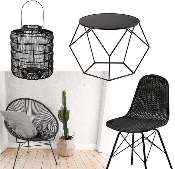 chaise jardin noir maison du mondejpg