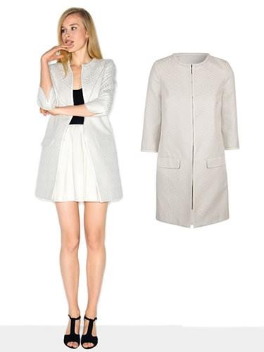 Naf naf veste blanche