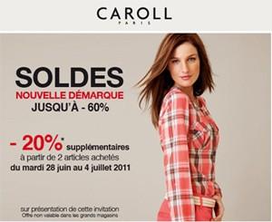 b06b46c01c34 Soldes Caroll   20% de remise supplémentaire - Les bons plans de Naima