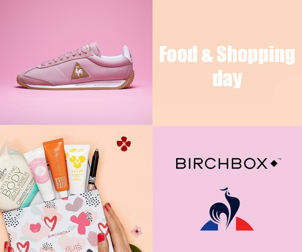 Concours : Food and Shopping Day avec Le Coq Sportif et