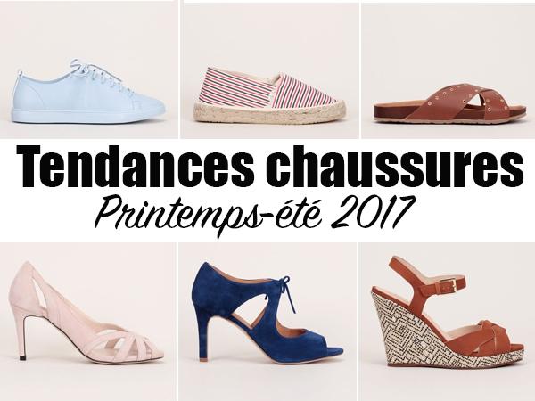 4564bf143a3e Printemps-Été 2017 - 15 paires de chaussures tendances à découvrir ! - Les  bons plans de Naima