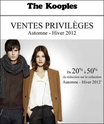 vente privee the kooples