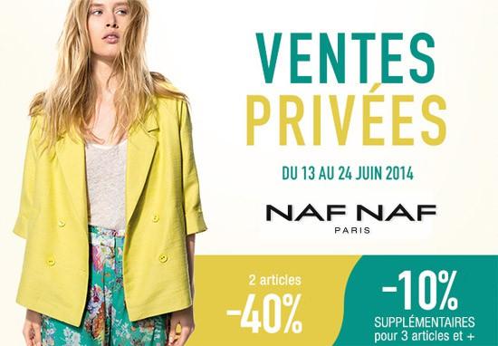 bien connu lisse dégagement Vente privée Naf Naf - Pré-soldes été 2014 - Les bons plans ...