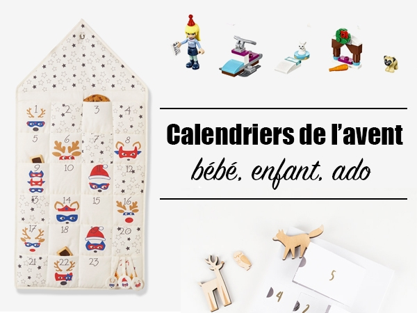 calendriers de l 39 avent pour b b enfant et ado les bons plans de naima. Black Bedroom Furniture Sets. Home Design Ideas