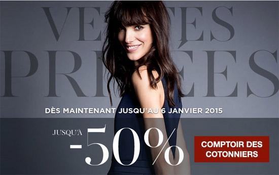 2edf917153d27 Ventes privées Comptoir des Cotonniers - Pré-soldes d Hiver 2015 ...