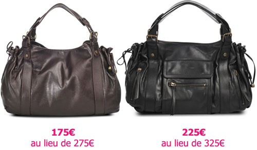 ed0243b698557 100€ de réduction sur les sacs Gérard Darel, Vanessa Bruno, Z V ...