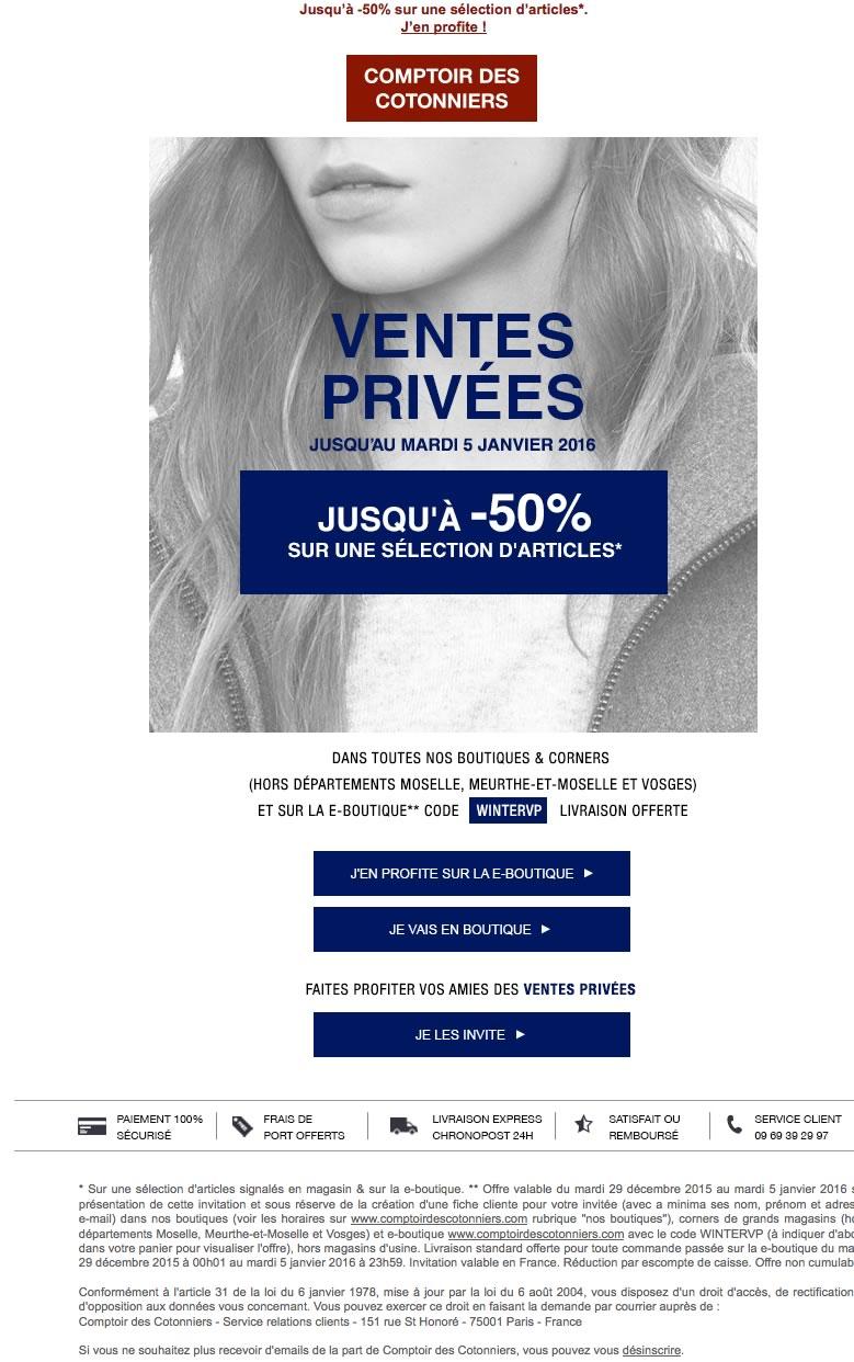 52b5869cbbe Ventes privées mode - Pré-soldes Hiver 2015 - 2016 - Les bons plans ...