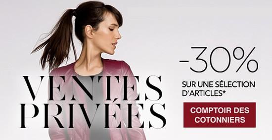 Vente Privee Comptoir Des Cotonniers Automne 2014 Les Bons Plans