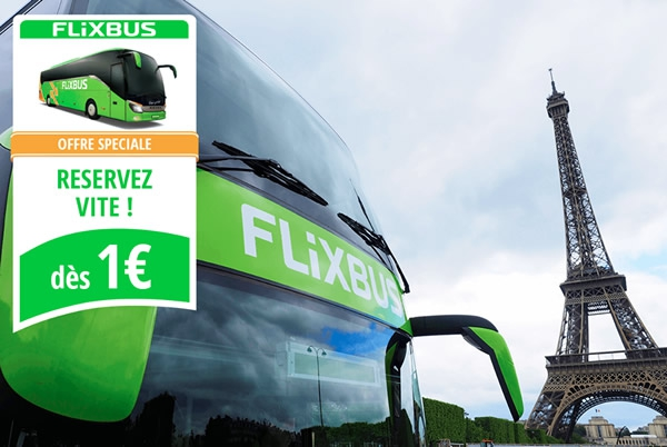 des billets de bus pas cher pour la france avec flixbus les bons plans de naima. Black Bedroom Furniture Sets. Home Design Ideas