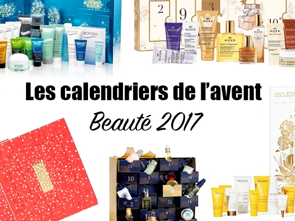 calendriers de l 39 avent beaut 2017 et les codes promos. Black Bedroom Furniture Sets. Home Design Ideas