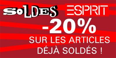 20% supplémentaires sur les soldes Esprit, Mexx et Espacemax - Les ... 7cee2ee32200