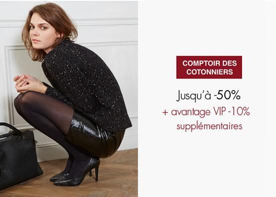 Vente Privee Comptoir Des Cotonniers Pre Soldes Hiver 2014 Les