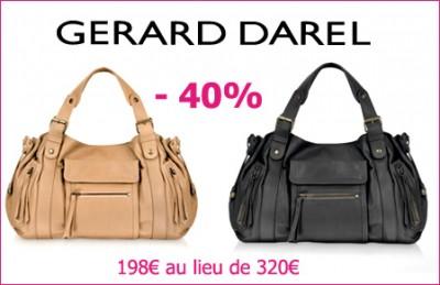 Vente privée Forzieri   40% de réduction sur les sacs Gérard Darel ... 6eb6f50a49c7
