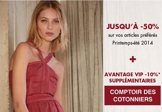 Vente privée Comptoir des Cotonniers - Printemps 2014 - Les bons ... 10ab4c02611
