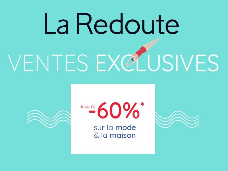 65898c0d15c Vente privée La Redoute 2018 (Pré-soldes) ! - Les bons plans de Naima