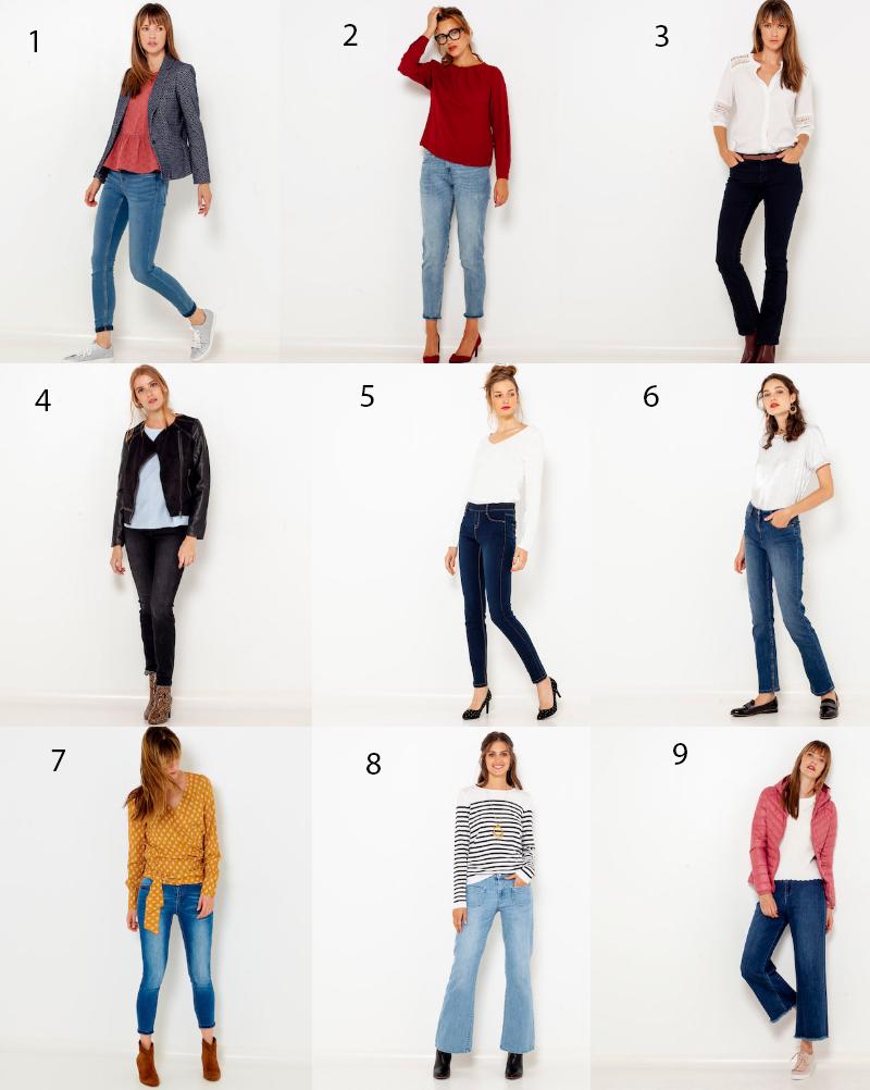 b4b3a12e01564 Les jeans femme tendances en 2018-2019 - Les bons plans de Naima
