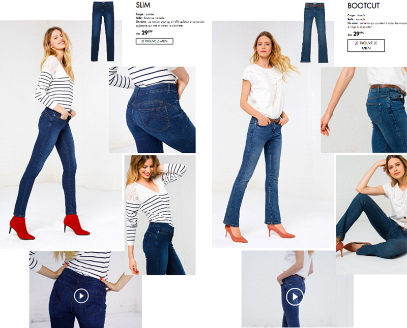 Jeans femme 2018,2019
