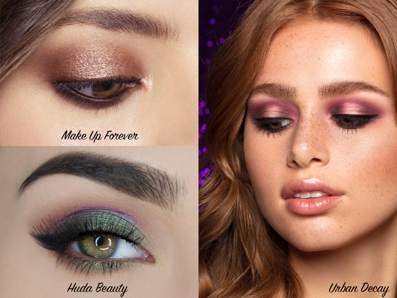 Palettes maquillage yeux 2018,2019