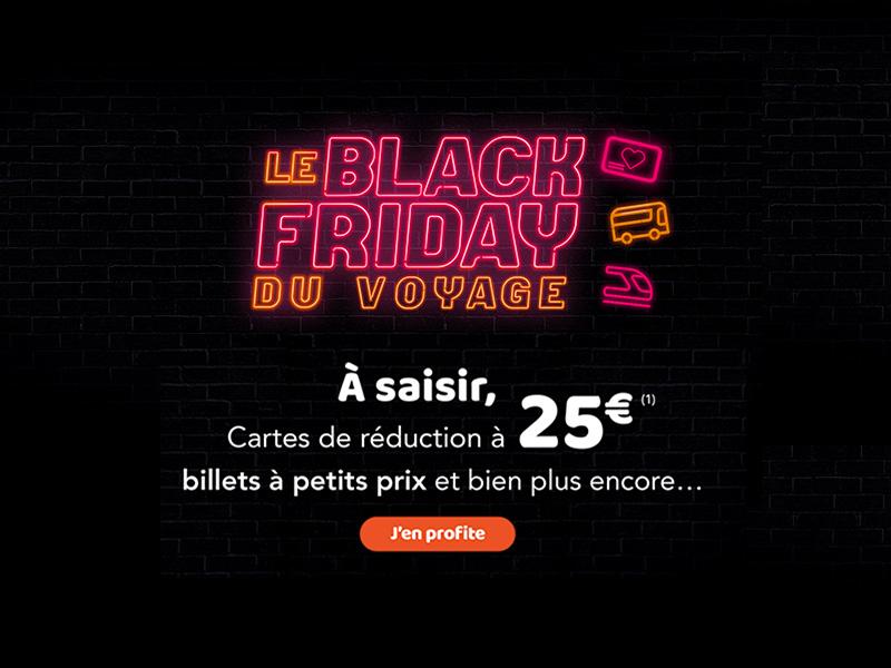 Les Cartes Sncf A 25 Pour Le Black Friday Les Bons Plans De Naima