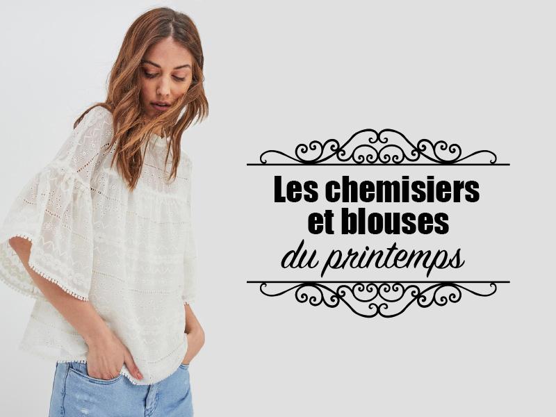 d8329709d7500 Chemisiers Femme - Les tendances 2019 - Les bons plans de Naima