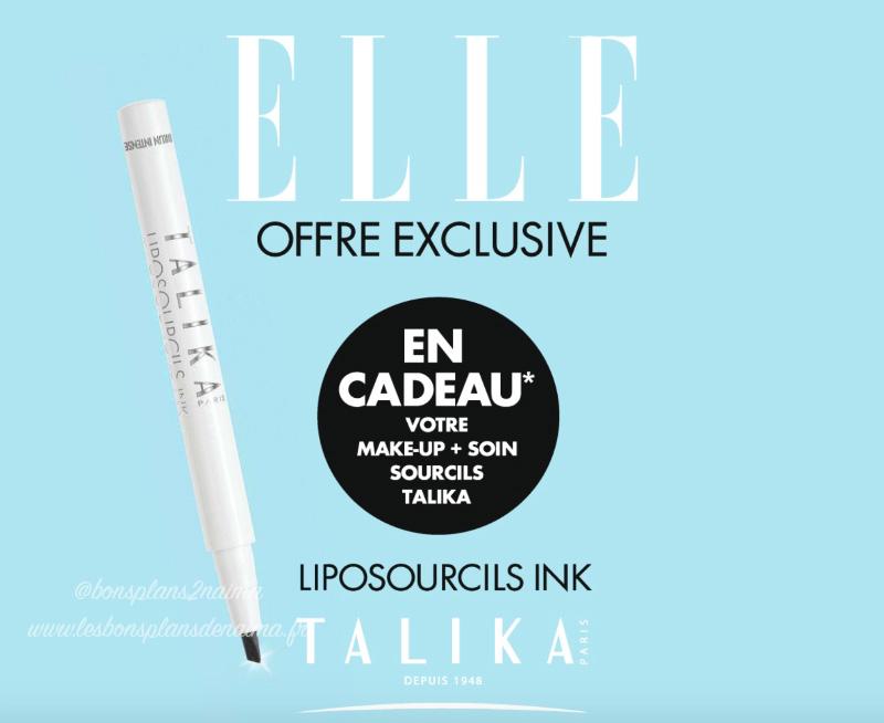 Feutre Talika magazine Elle