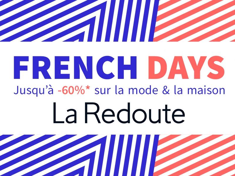 d7c4985de93c5f French Days La Redoute 2019 - Toutes les infos pour en profiter ...