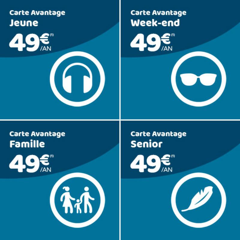 Les Nouvelles Cartes De Reduction De La Sncf Les Bons Plans De