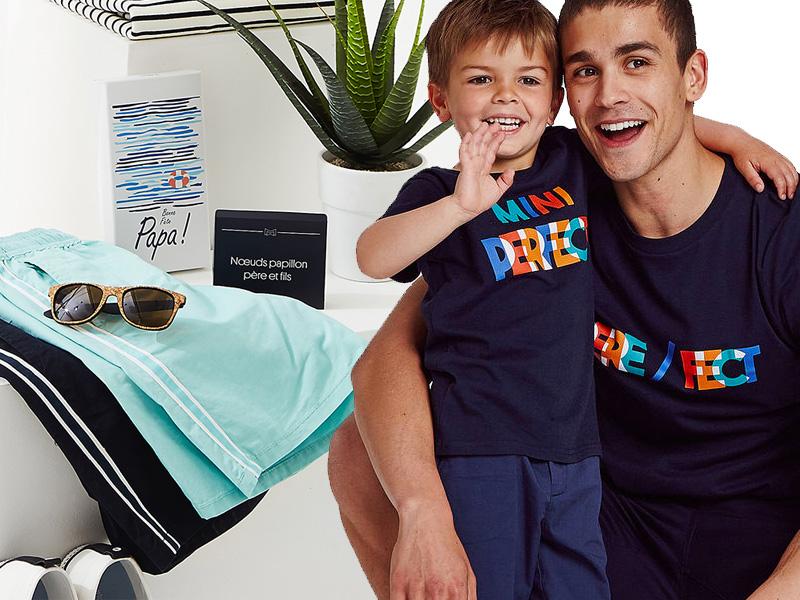 Cadeau Cadeau Papa Père//Fille T-shirt Père//Fils la fête des pères Papa