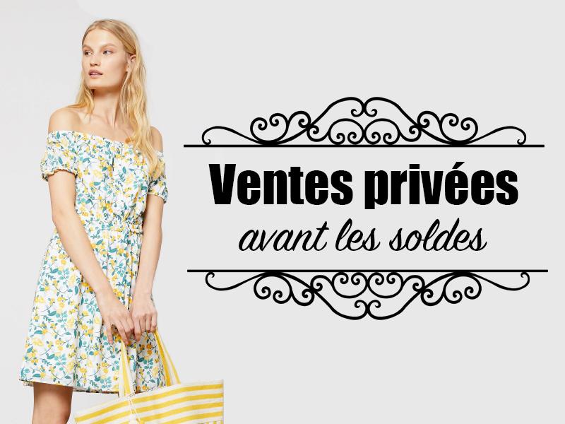 0cc36c49c855bb Ventes privées 2019 (Pré-soldes été 2019) - Dates, codes promos ...