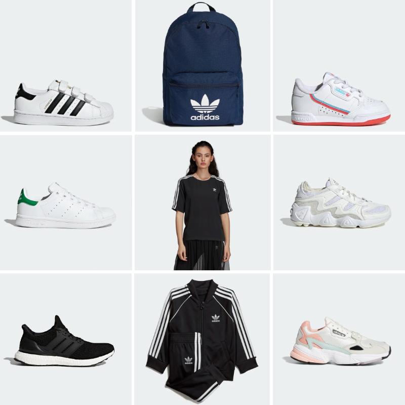 Vente privée de bon d'achat Adidas d'une valeur de 25€ au