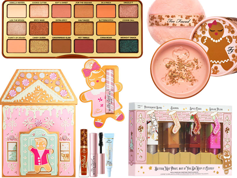 Too Faced Noël 2019 , Toute la collection (palettes